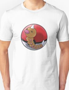 Weedle pokeball - pokemon T-Shirt