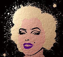 Marilyn Monroe Copper by sebinlondon