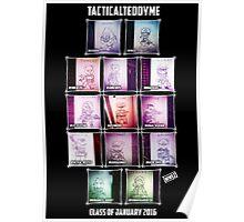 tacticalteddyme winners tee Poster