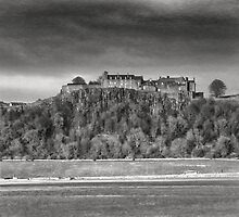 Stirling Castle (vintage) by JM Braat Photography