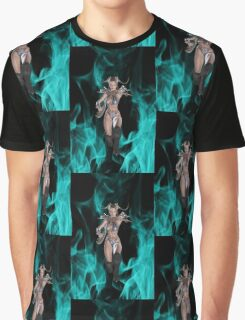 Hell`s Warrior Graphic T-Shirt