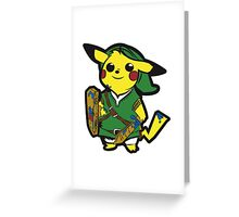 The Legend of Pika Greeting Card