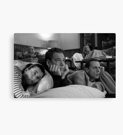 NCIS team sleepover Canvas Print