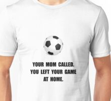 Soccer Game At Home Unisex T-Shirt