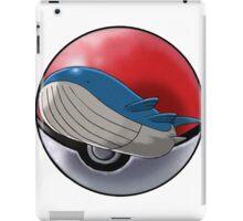 Wailord pokeball - pokemon iPad Case/Skin