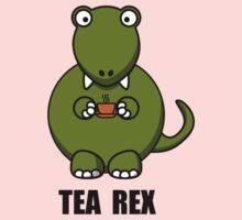 Tea Rex Dinosaur Kids Tee
