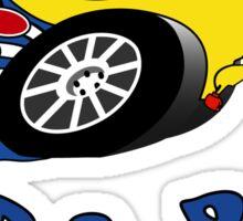 Suba Roo (small logo) Sticker