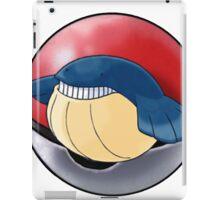 Wailmer pokeball - pokemon iPad Case/Skin