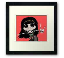 What the Punk?! Framed Print