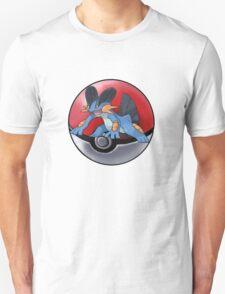 Swampert pokeball - pokemon T-Shirt