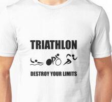 Triathlon Destroy Unisex T-Shirt