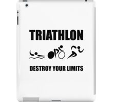 Triathlon Destroy iPad Case/Skin
