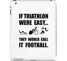 Triathlon Football iPad Case/Skin