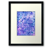 You Have A Little Water Stain in Pantone 2016 Framed Print