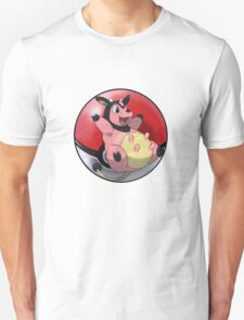 Miltank pokeball - pokemon T-Shirt