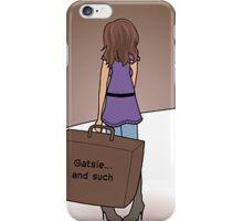 Gatsie.. And Such iPhone Case/Skin