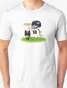 Peyton Manning and Bronco Unisex T-Shirt