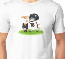 Peyton Manning and Bronco Unisex T-Shirt