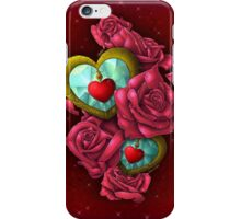 Of Hearts & Roses iPhone Case/Skin
