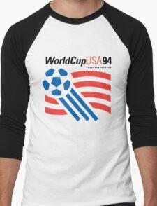 FIFA World Cup 94 USA Men's Baseball ¾ T-Shirt
