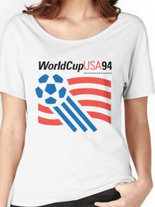 FIFA World Cup 94 USA Women's Relaxed Fit T-Shirt