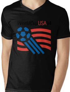 FIFA World Cup 94 USA Mens V-Neck T-Shirt