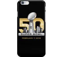 Super Bowl 50 San Francisco 2016 iPhone Case/Skin