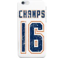 CHAMPS 16 b iPhone Case/Skin