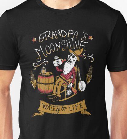 Grandpa's moonshine Unisex T-Shirt