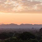 Bagan at Dawn by Johannes Valkama