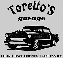 Toretto's Garage. Fast and Furious / Gas Monkey - inspired by Yolanda Martínez