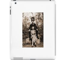 Three Friends in Halifax, Nova Scotia, Canada during WW2. iPad Case/Skin