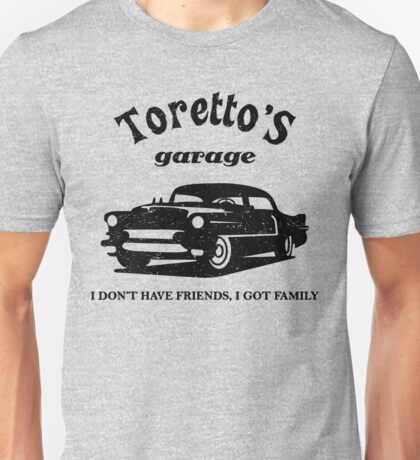 Toretto's Garage. Fast and Furious / Gas Monkey - inspired Unisex T-Shirt