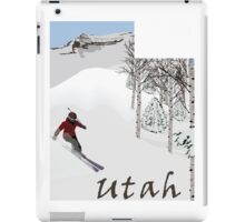 Utah: Greatest Snow on Earth iPad Case/Skin