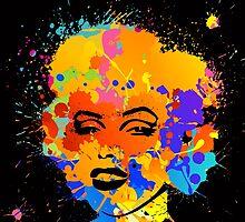 Marilyn Monroe 6 by sebinlondon