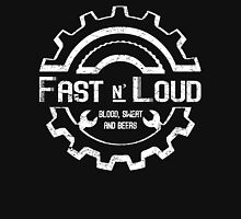 Fast and Loud, Inspired Gas Monkey. White design. Unisex T-Shirt