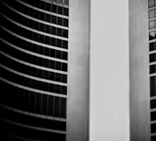 Toronto City Hall abstract 1 by carlrittenhouse