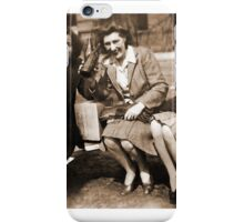 Women drinking Stolen Olands's Export Ale during the Halifax Riots in Canada iPhone Case/Skin
