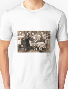 Women drinking Stolen Olands's Export Ale during the Halifax Riots in Canada T-Shirt
