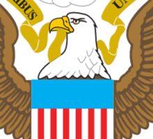 SEAL, American, Eagle, Patriot,  War, Flag, America, Bald Eagle, USA, Bird of Prey Sticker