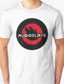 audiosleve round flame logo T-Shirt