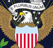 American, SEAL, Eagle, Circular, Patriot,  War, Flag, America, Bald Eagle, USA, Bird of Prey Sticker