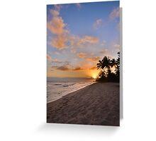Ewa Beach Sunset 2 - Oahu Hawaii Greeting Card