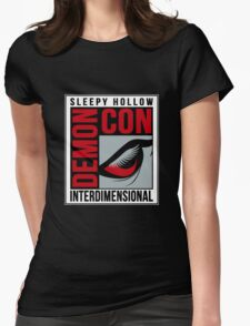 Sleepy Hollow Demon Con Womens Fitted T-Shirt