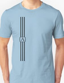 A Turquois Chevron II Unisex T-Shirt