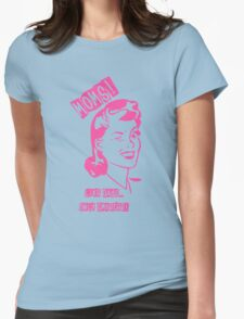 Moms rule Womens Fitted T-Shirt