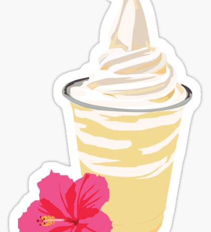Dole Whip Sticker