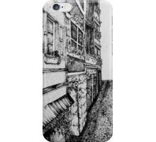Perspective (Black and White) iPhone Case/Skin