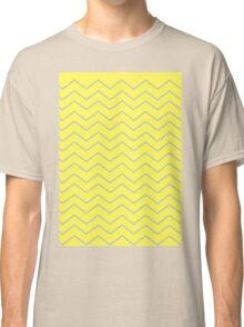 Yellow Chevron Classic T-Shirt