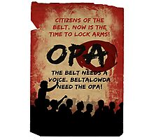 opa poster Photographic Print